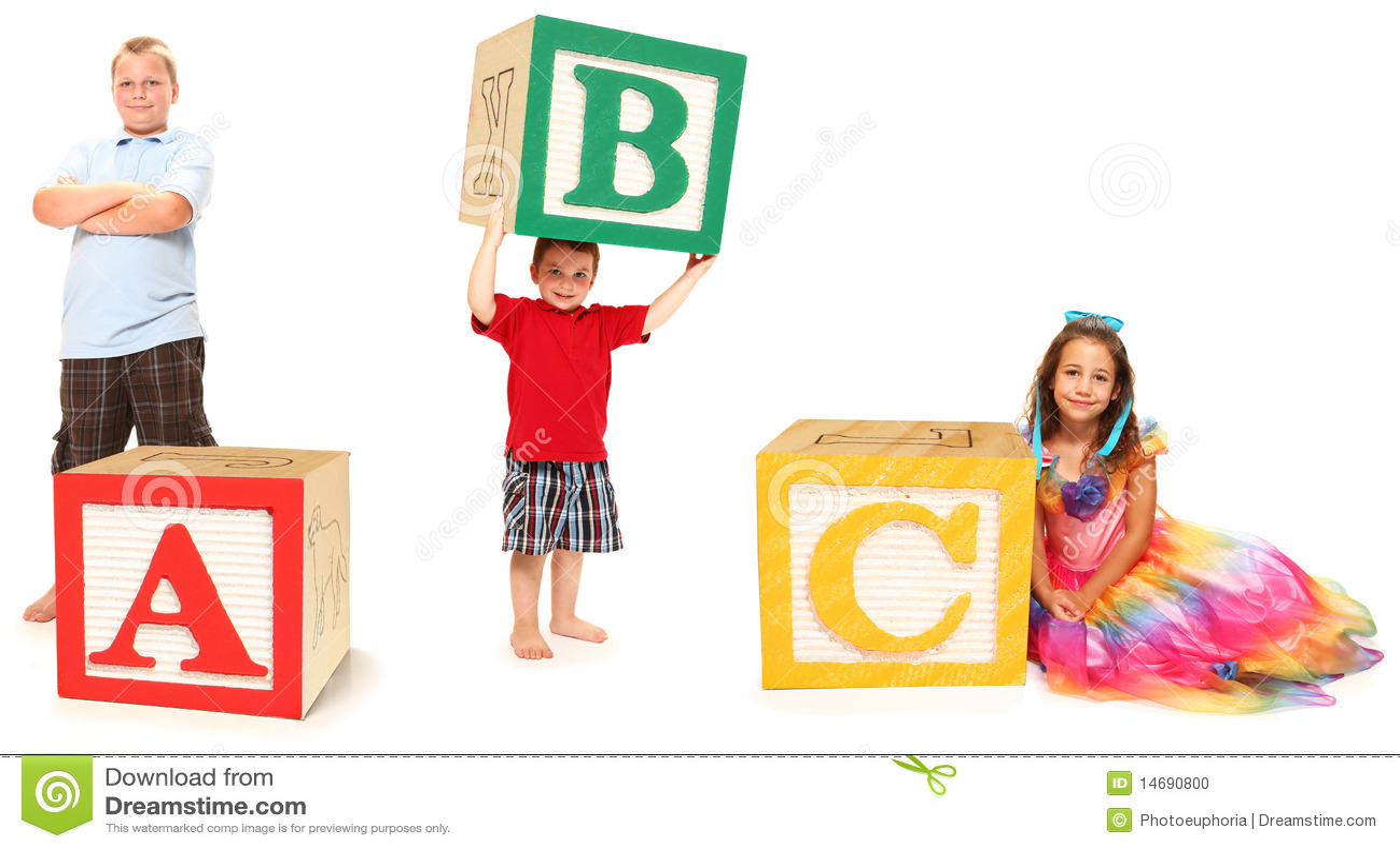 Abc-alfabetet blockerar ungar
