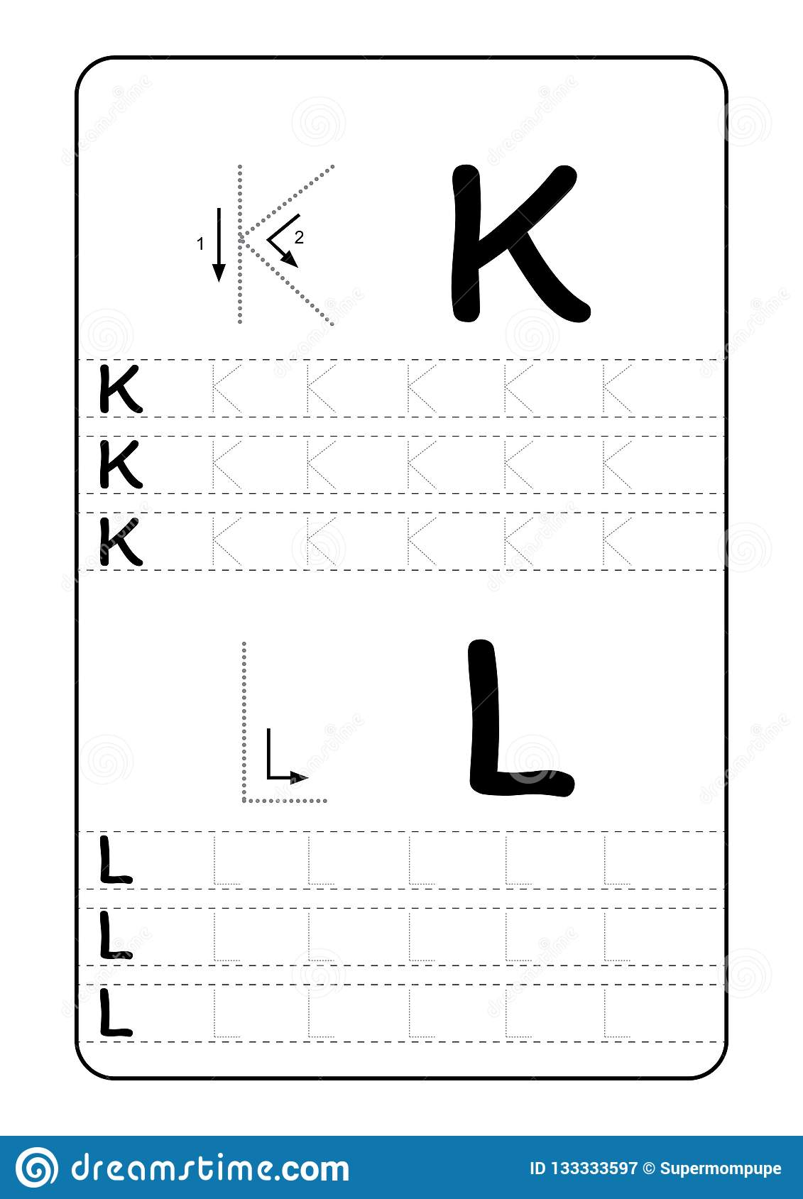 Abc Alphabet Letters Tracing Worksheet With Alphabet Letters Basic