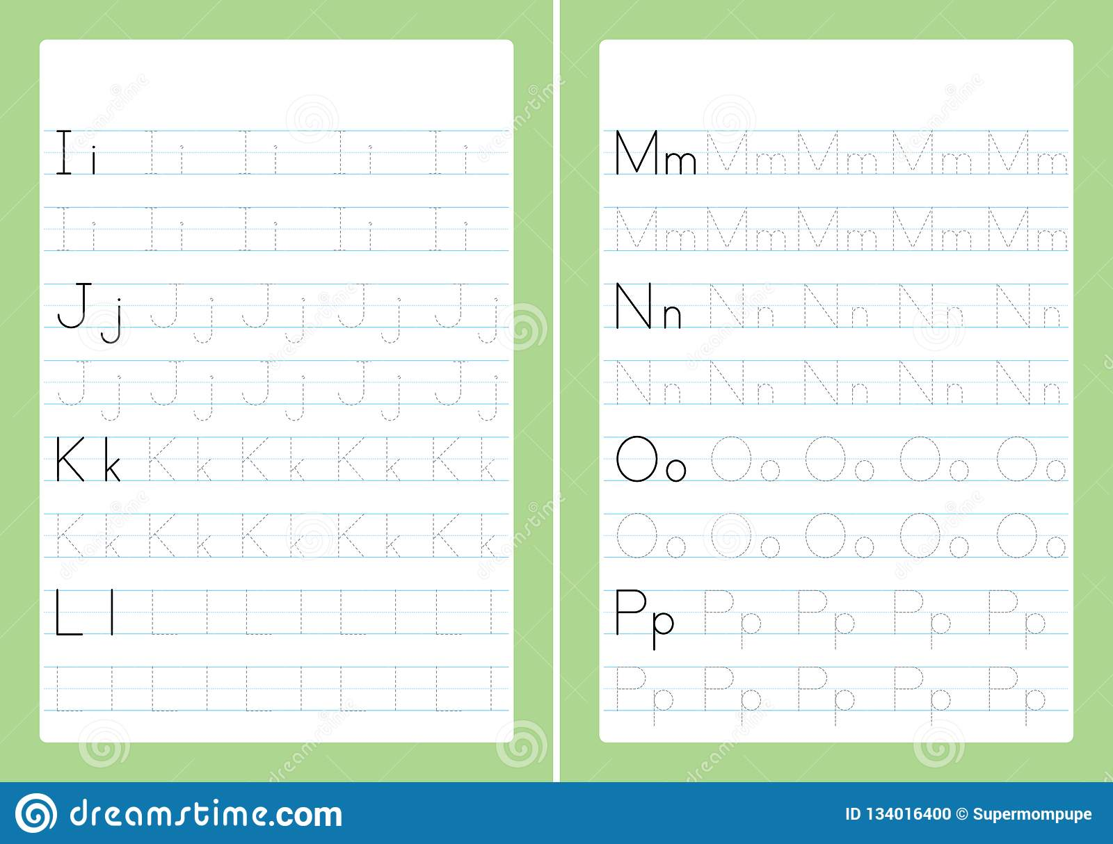 ABC Alphabet Letters Tracing Worksheet With Alphabet Letters ...