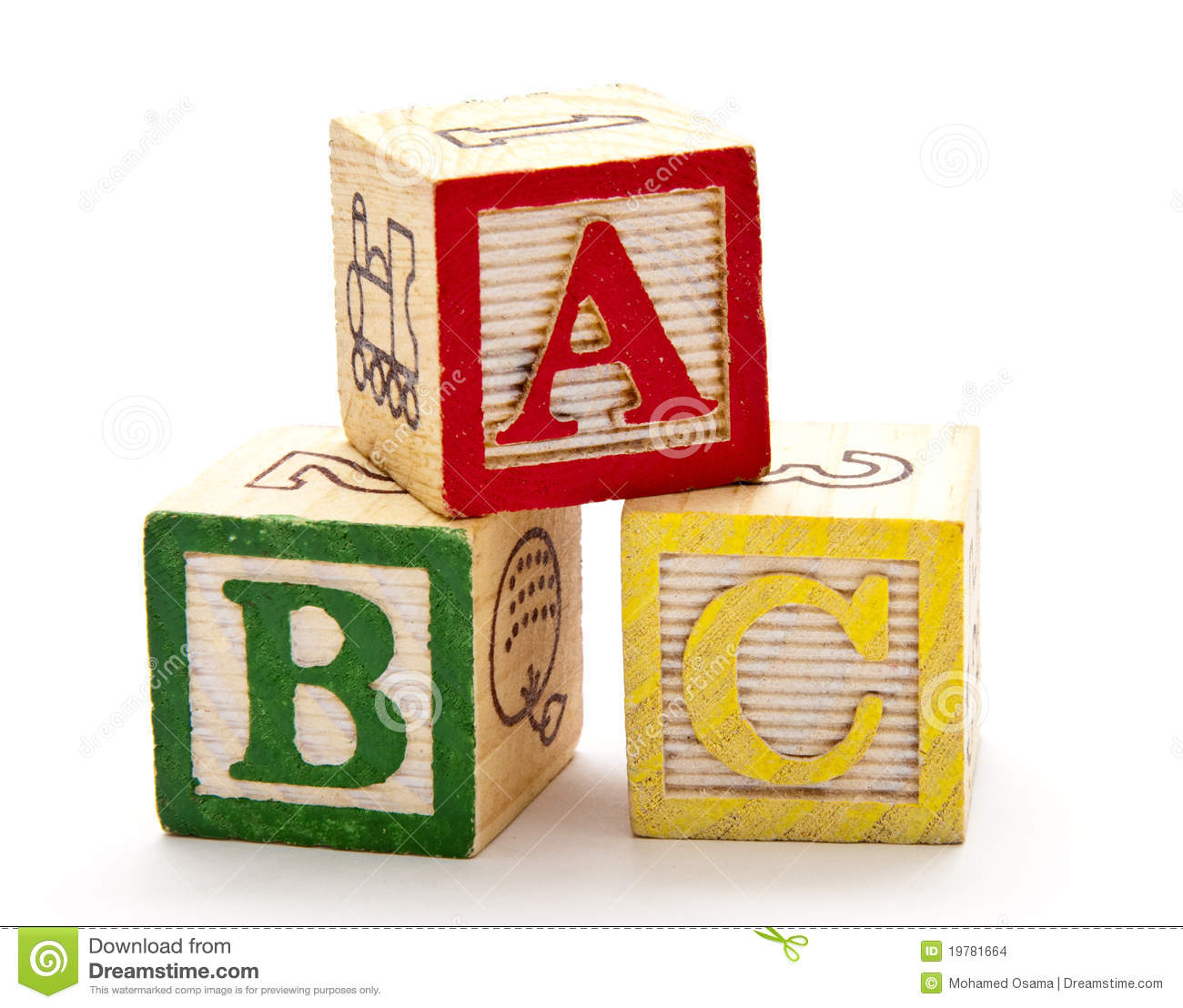 ABC Blocks Stock Images - Image: 19781664