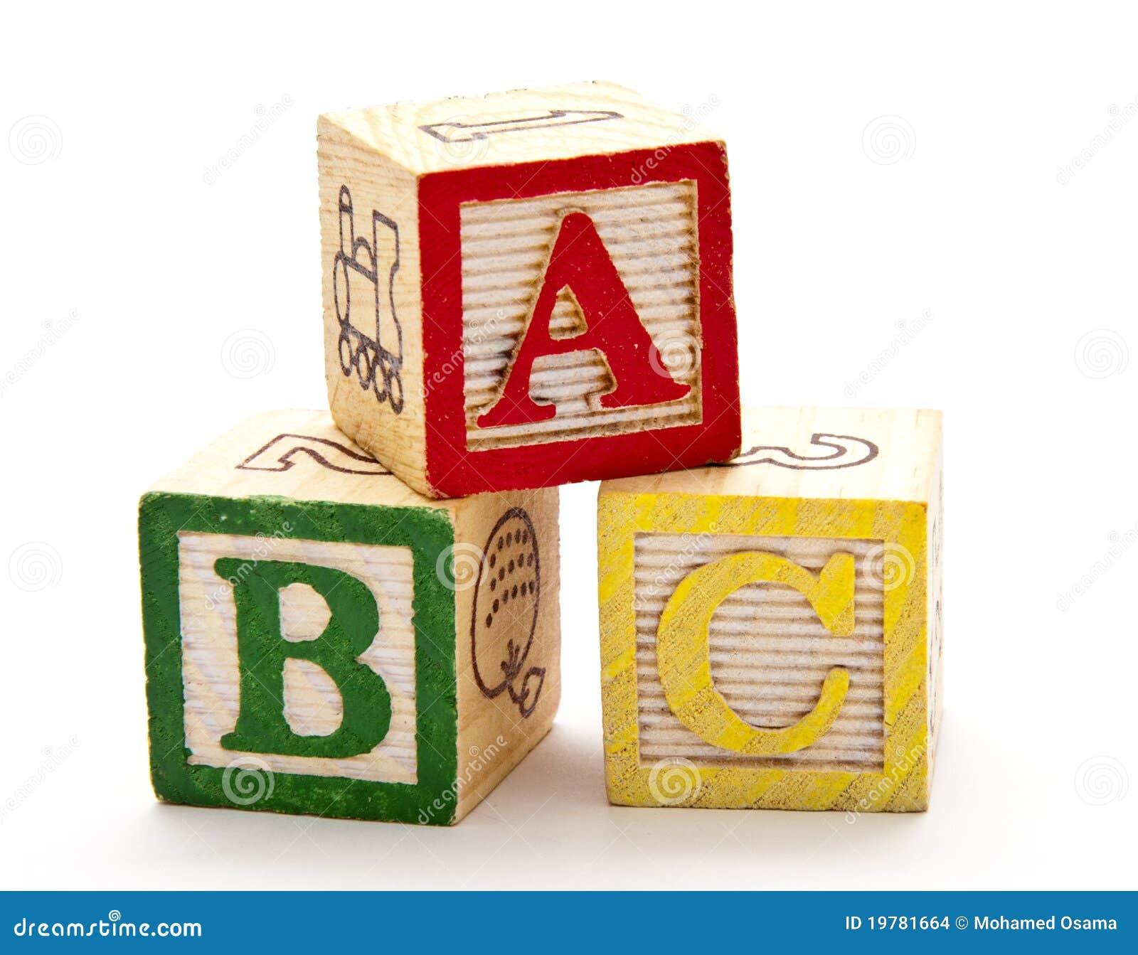 Abc Blocks Stock Images Image 19781664