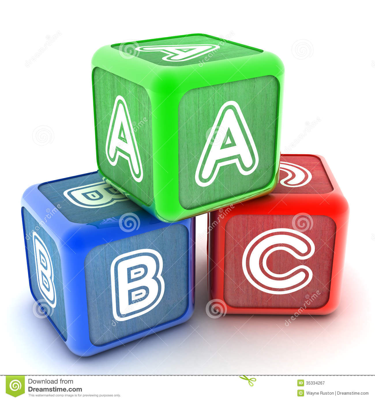 Kids game to learn abc