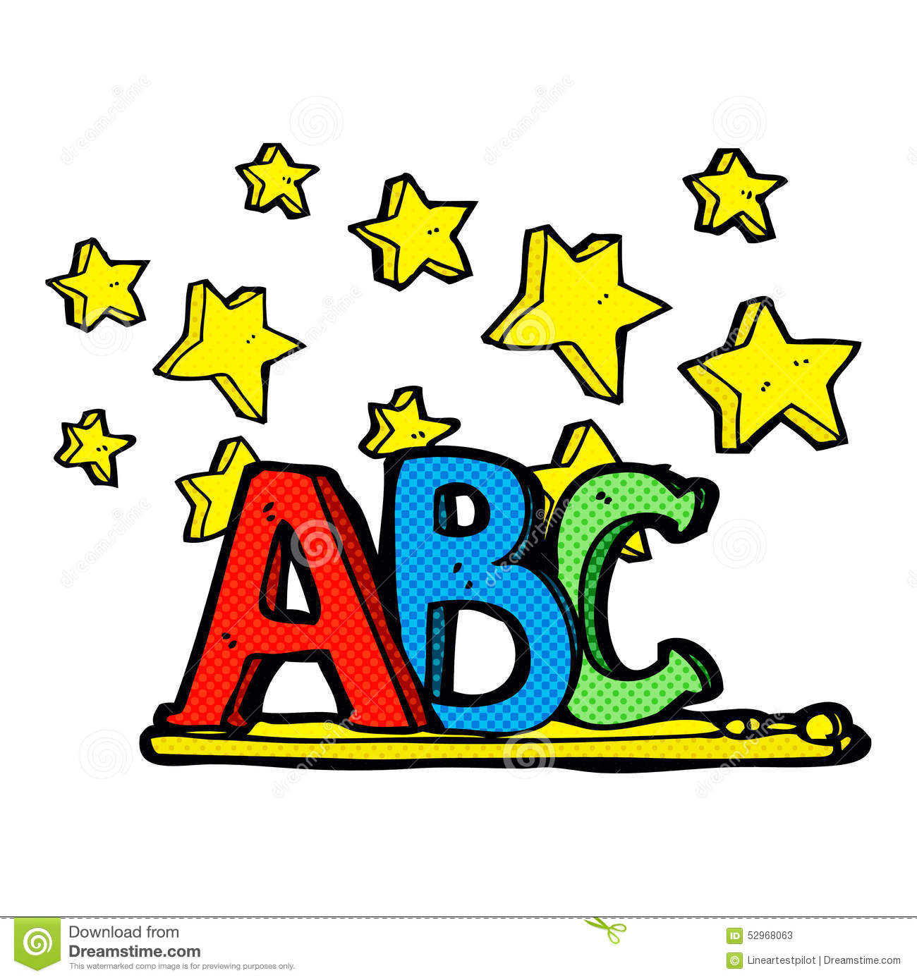 Cartoon Characters 7 Letters : Abc cartoon stock illustration image of letters quirky