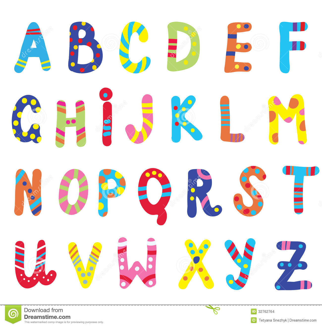 Abc For Children Funny Stock Images - Image: 32762764