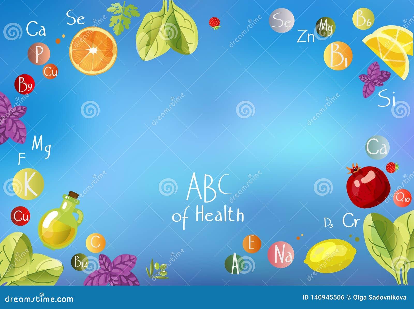 ABC de santé une dispersion des vitamines