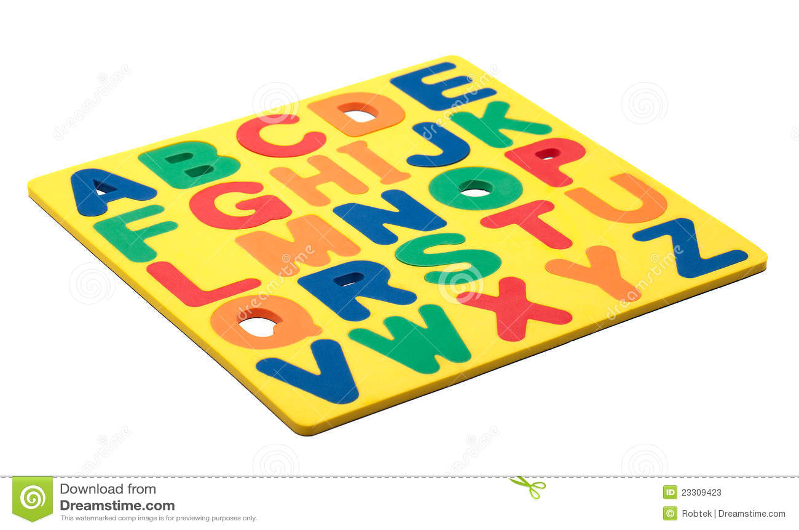 Abc Foam Letters Stock Image Image Of Foam Colors