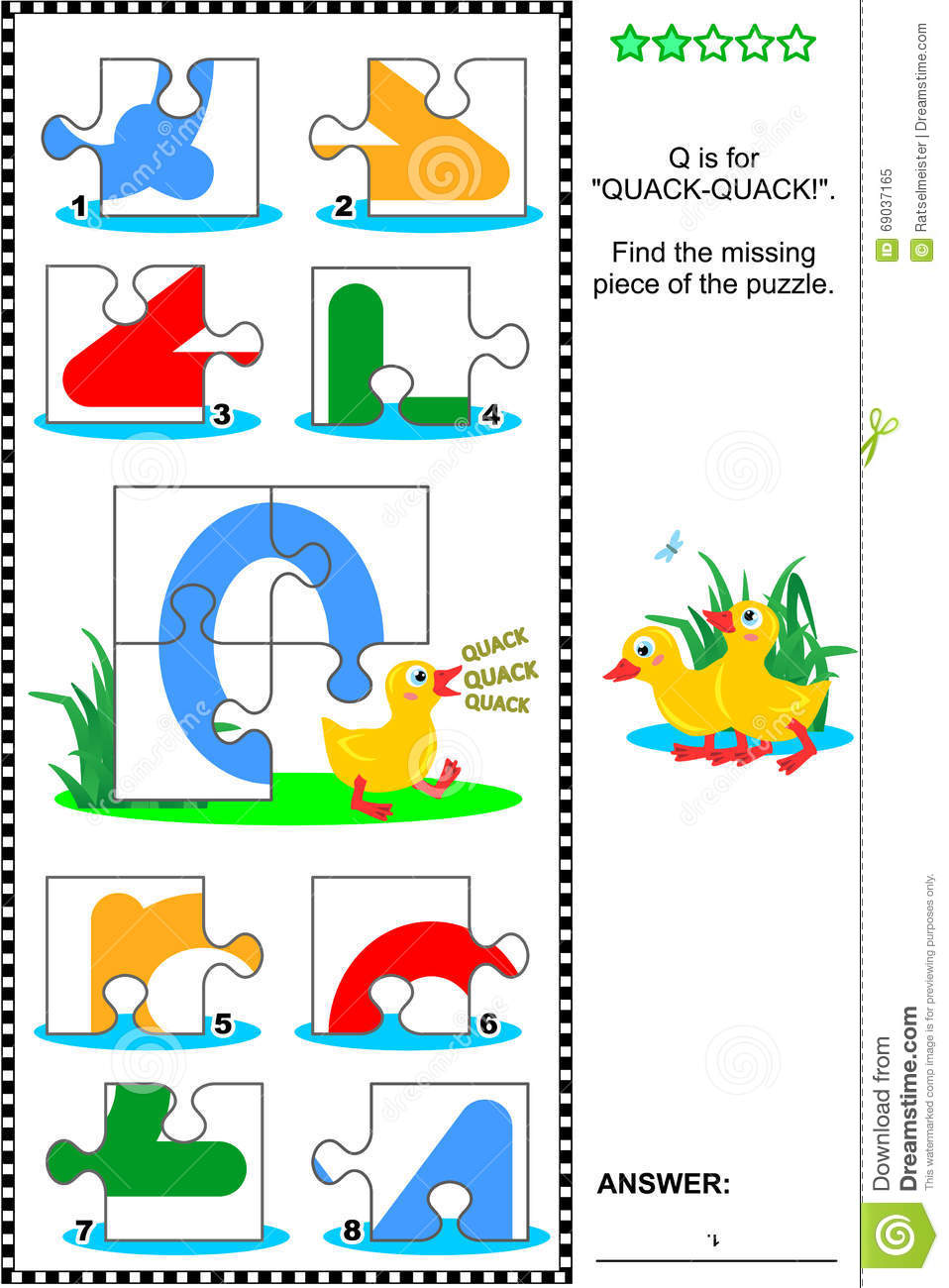 Q Is For Quack ABC Learning Education...