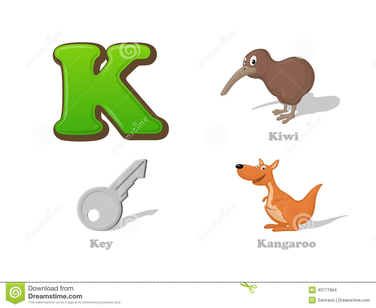 Stock Images Abc Letter K Funny Kid Icons Set Kiwi Bird Key Kangaroo Full English Alphabet Children Education Collection Image40777964 on Letter Q Queen