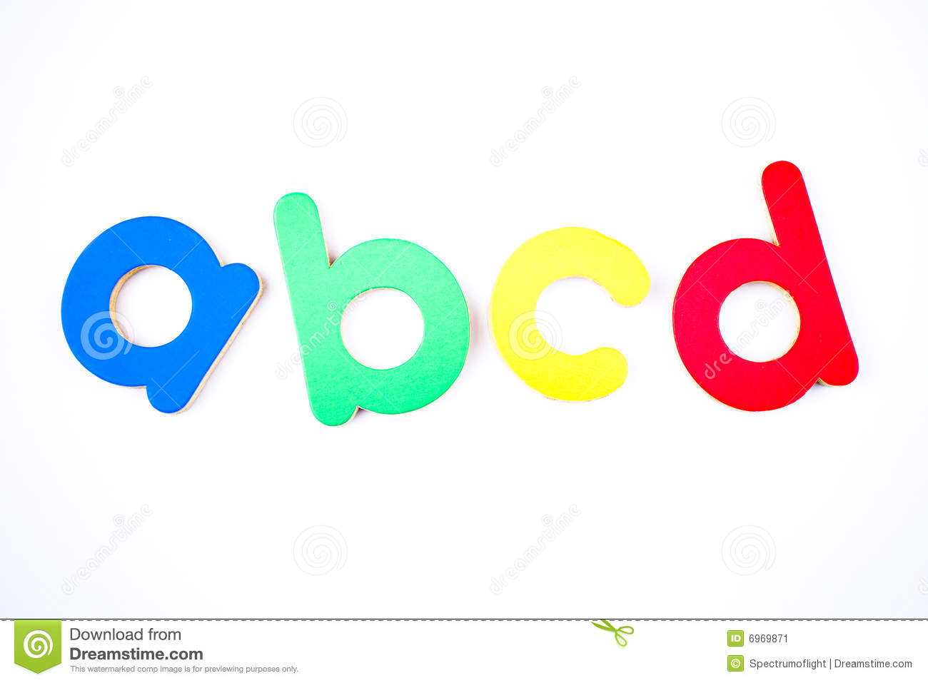 Abcd stock image. Image of script, lettering, fridge ...