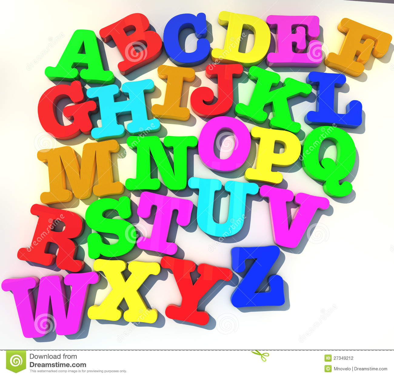 Abcd Alphabet Stock Photography - Image: 27349212