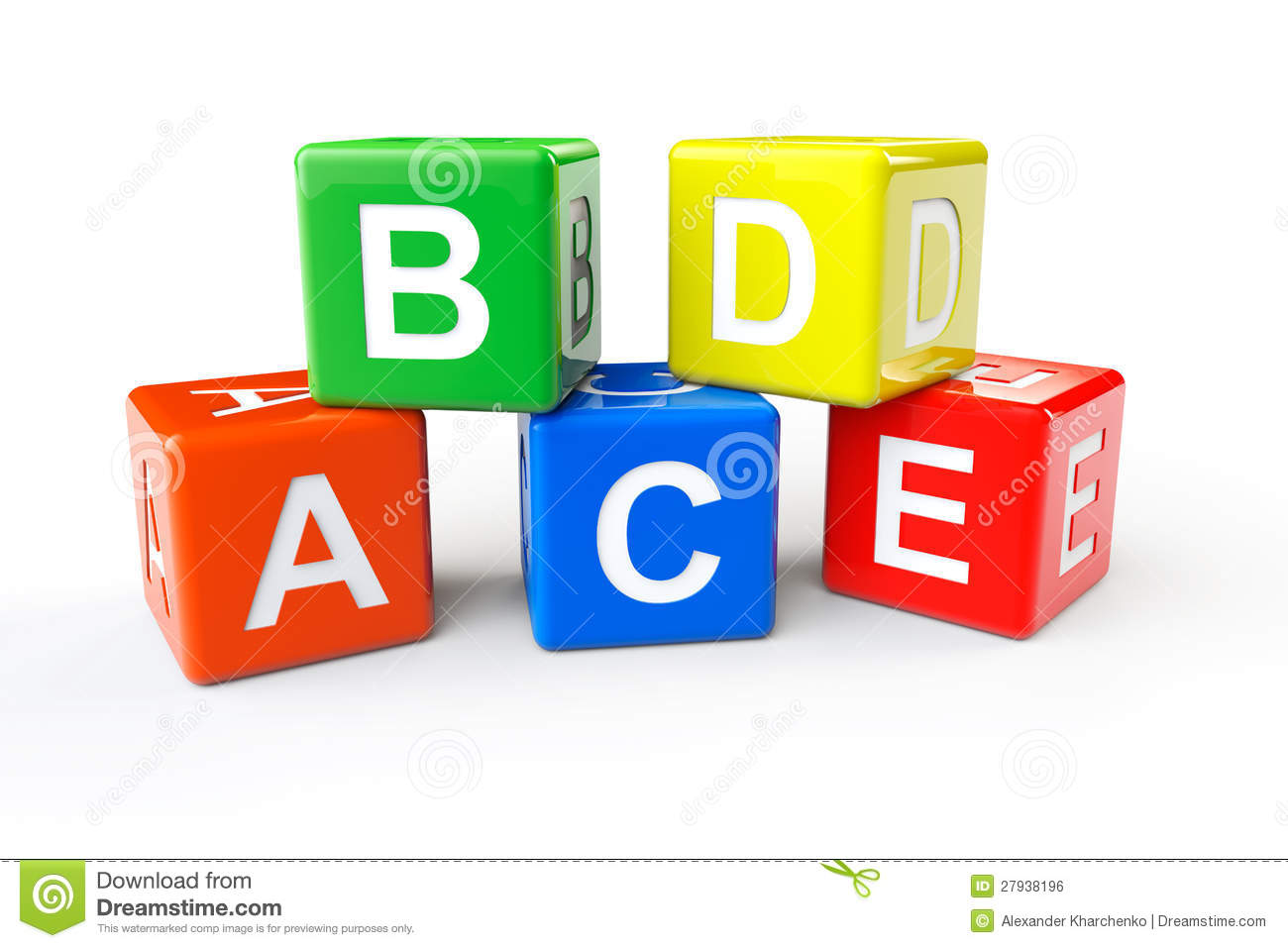 Royalty Free Stock Image Abcd Block Cubes Image27938196 on four square symbol
