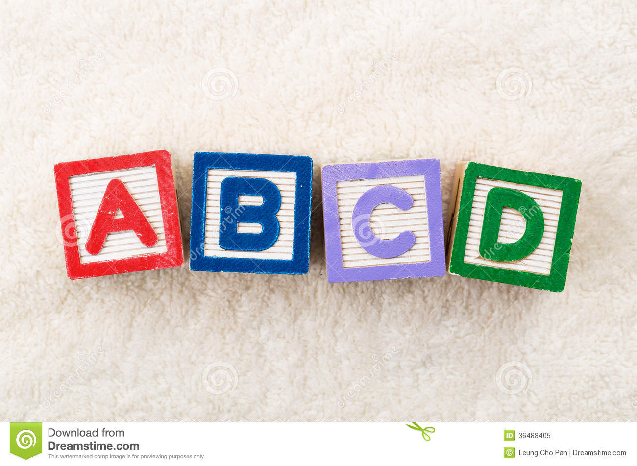 ABCD toy block stock image. Image of school, children - 36488405