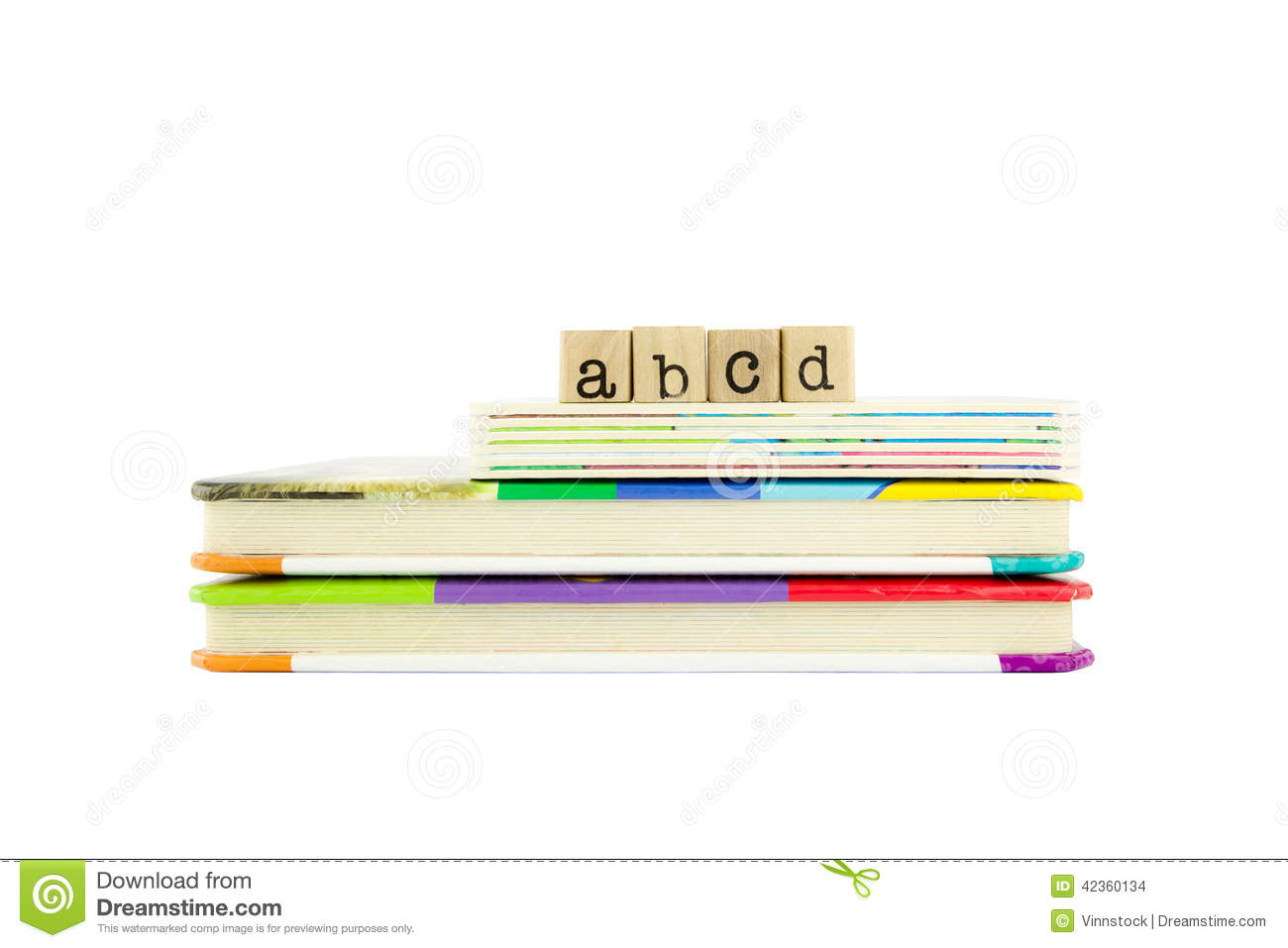 Abcd stock image image of script lettering fridge teacher 6969871 abcd word on wood stamps and childrens board books stock images thecheapjerseys Image collections