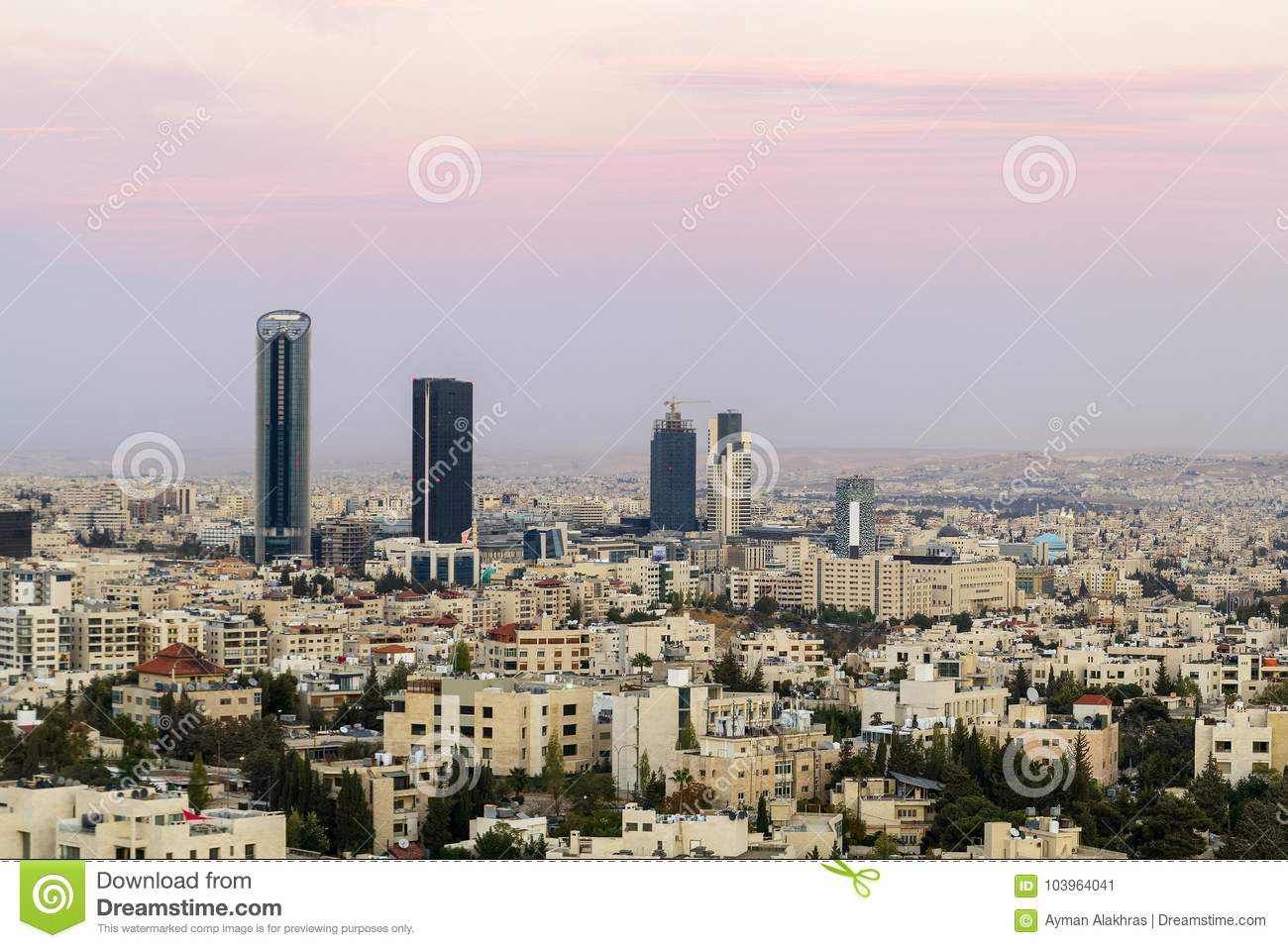 Abdali Area The New Downtown Of Amman