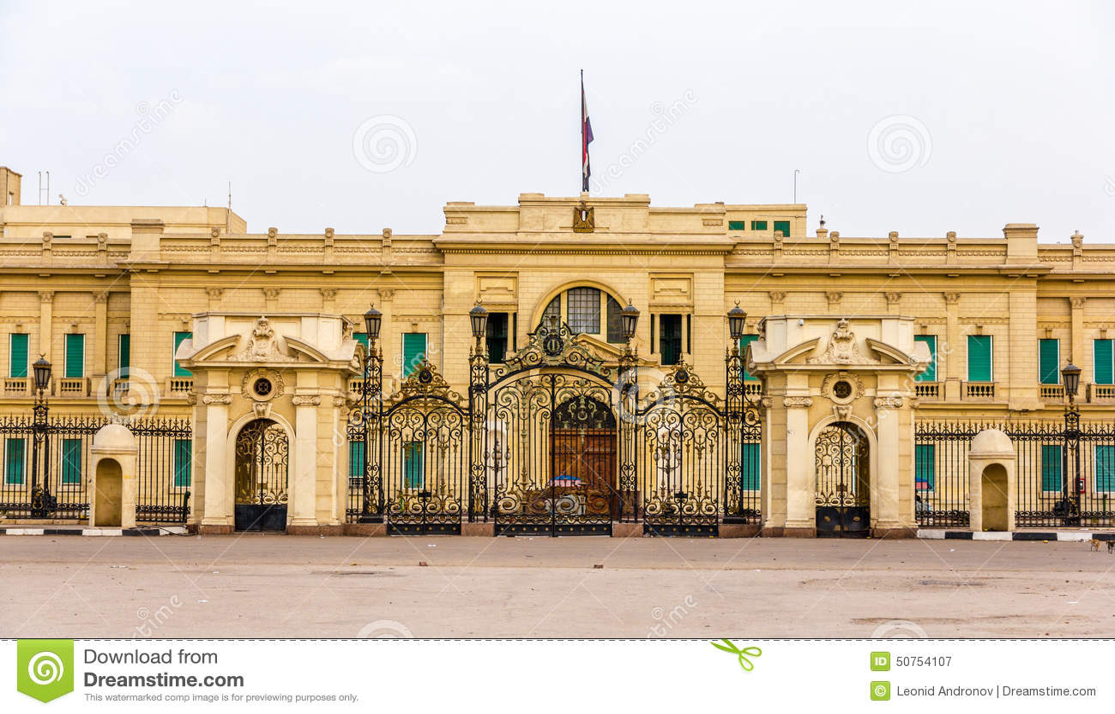 Abdeen Palace A Residence Of The President Egypt