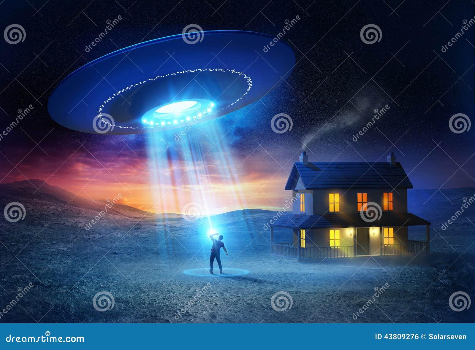 Abduction d UFO