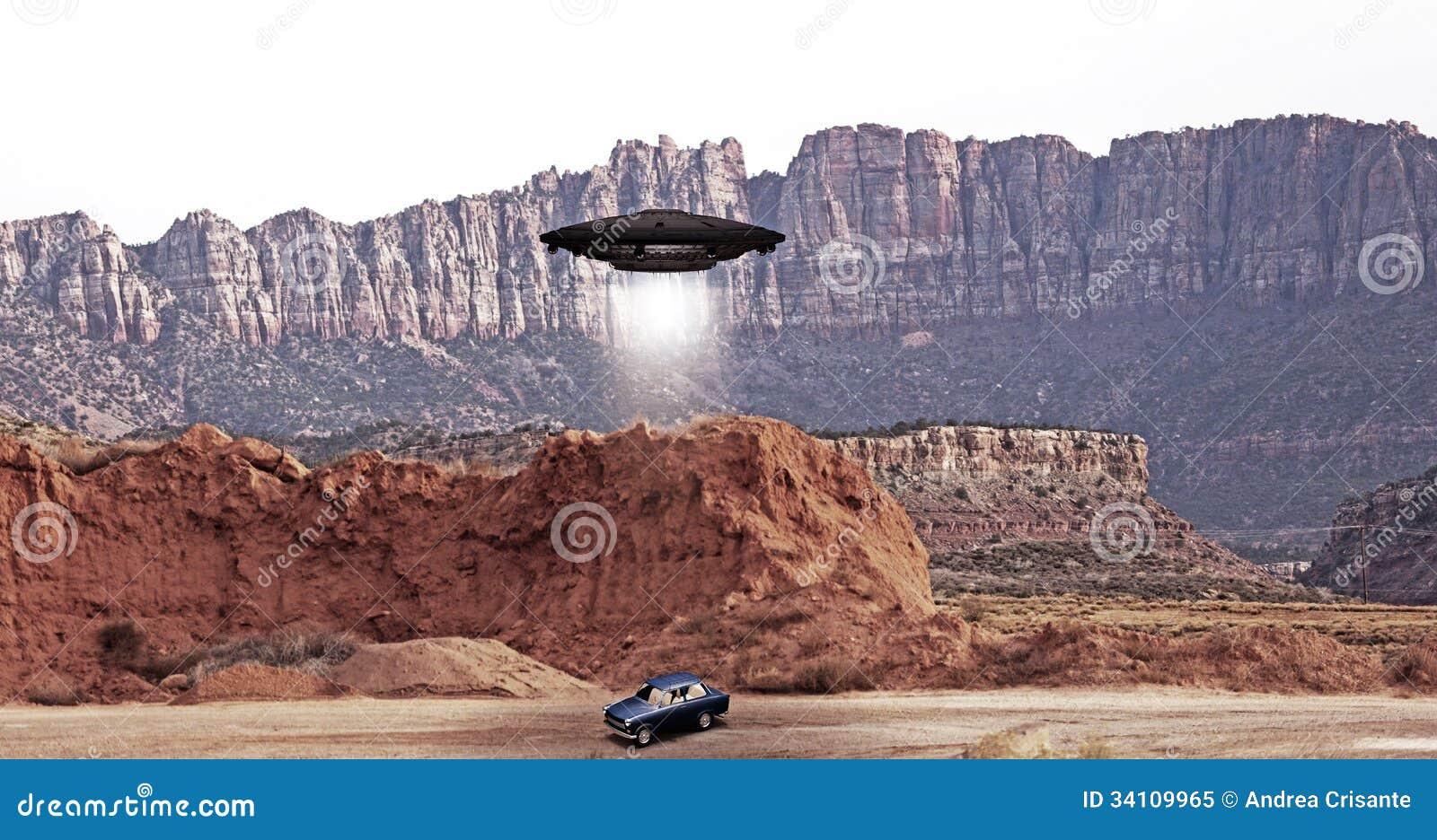 Abdution do UFO