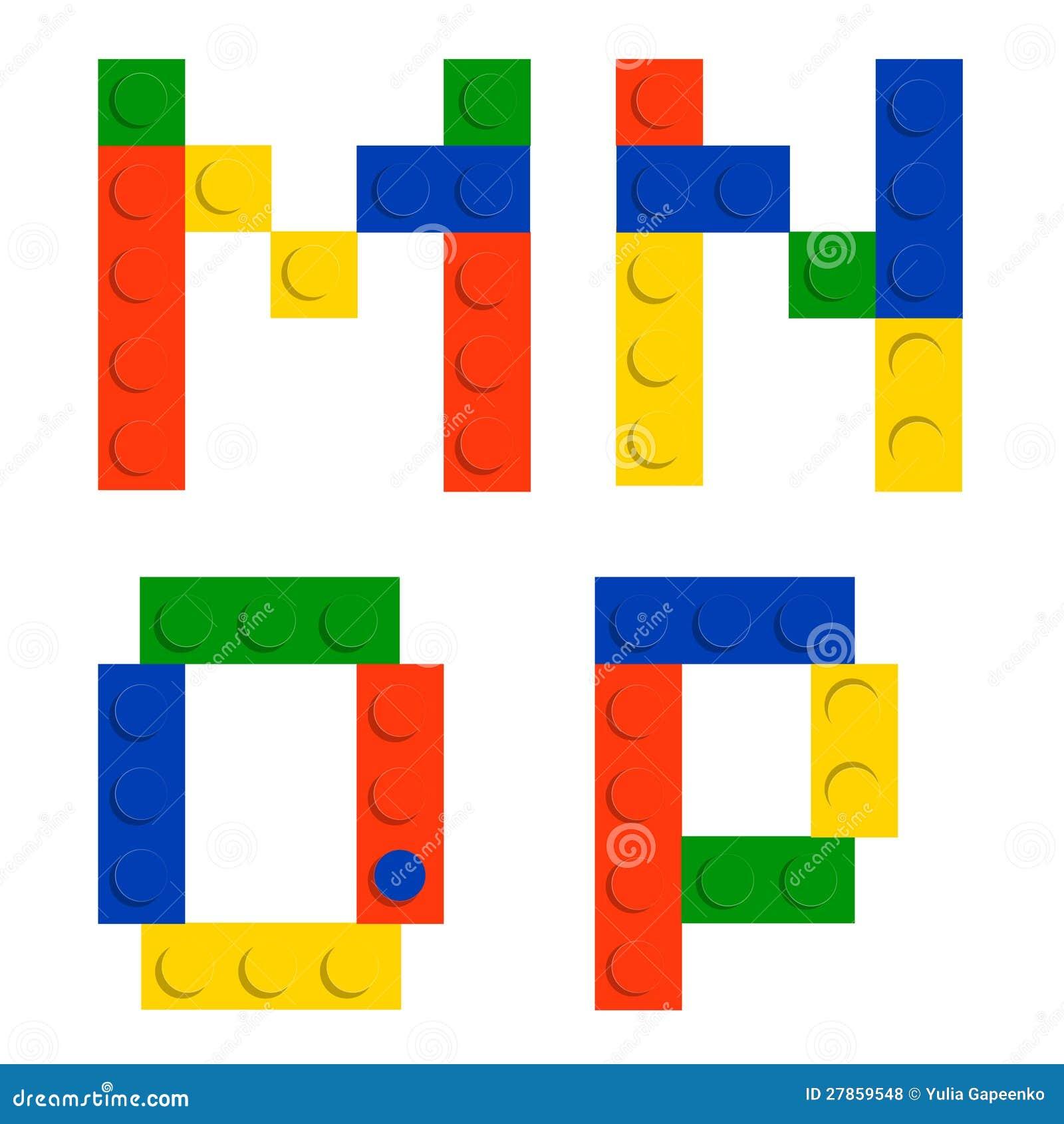 Abecadła set robić zabawkarscy budowy cegły bloki