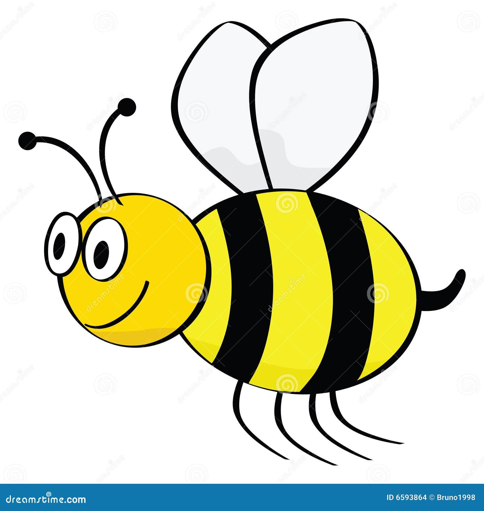 Abeille de dessin anim images stock image 6593864 - Dessin de ruche d abeille ...