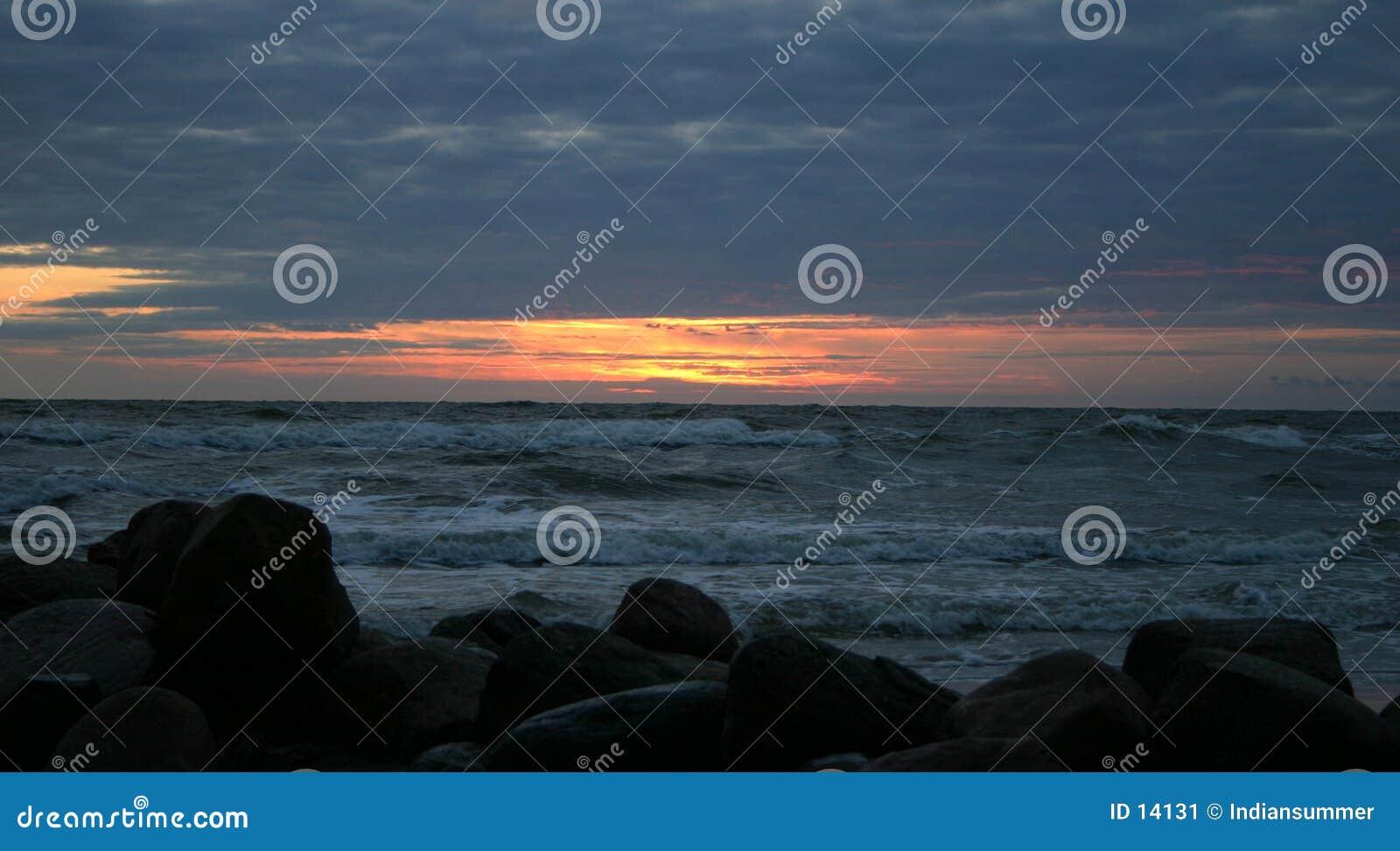 Abend durch das Meer IV