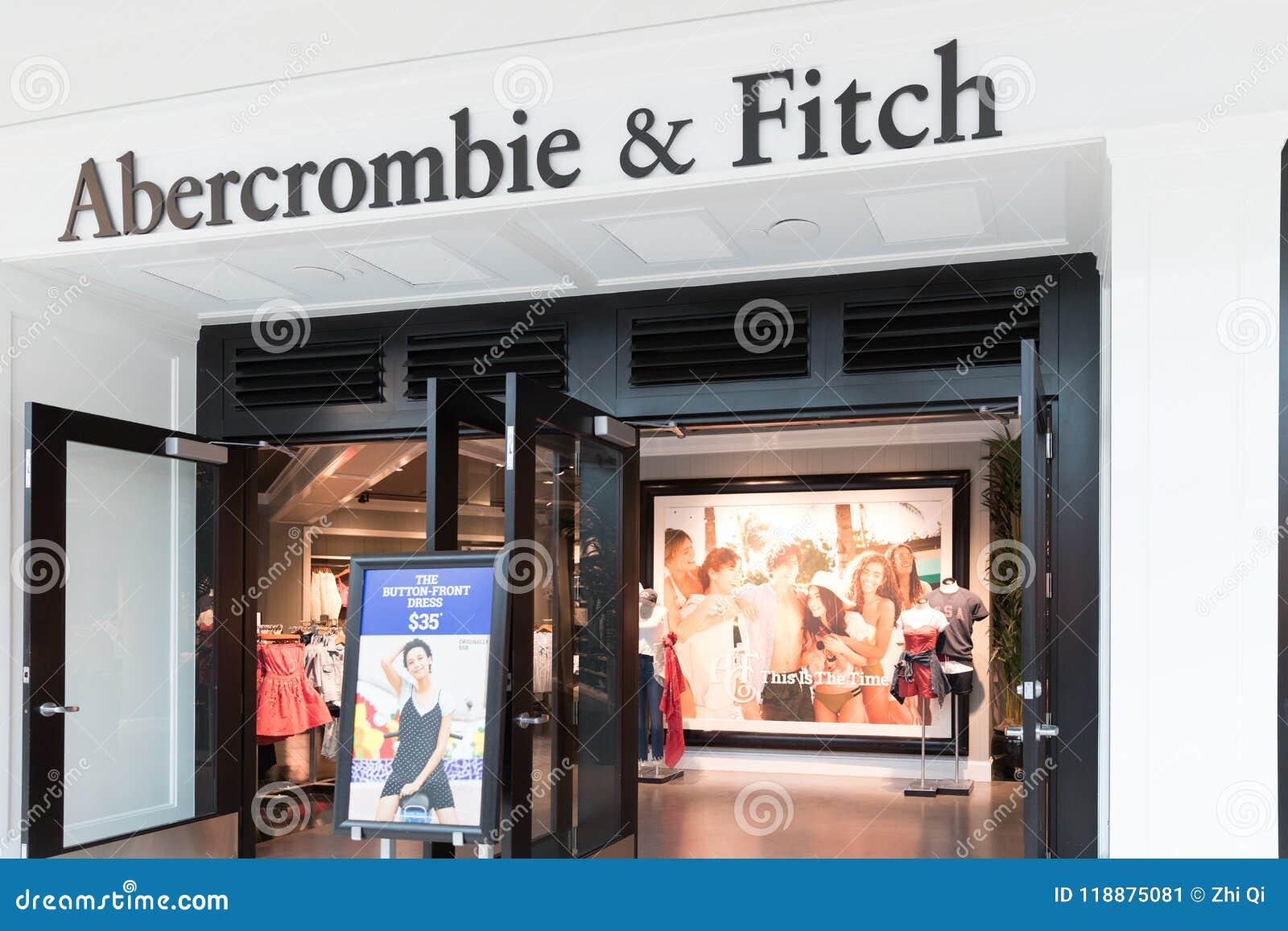 Abercrombie & Fitch Clothing Store i Philadelphia I