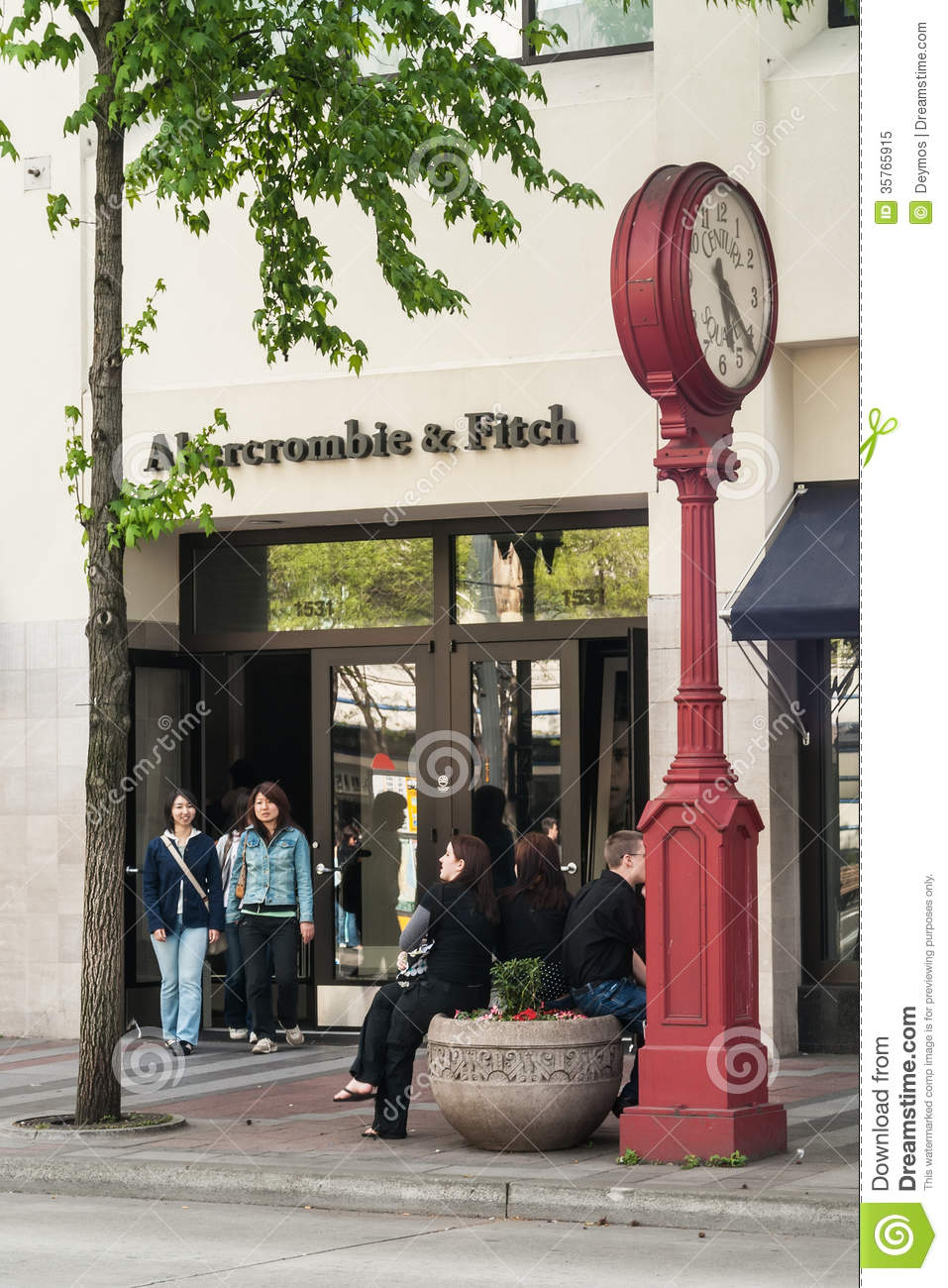 Abercrombie & Fitch store, Seattle, WA