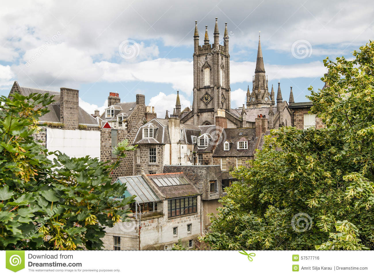 Royalty Free Stock Photo. Download Aberdeen City Centre ...