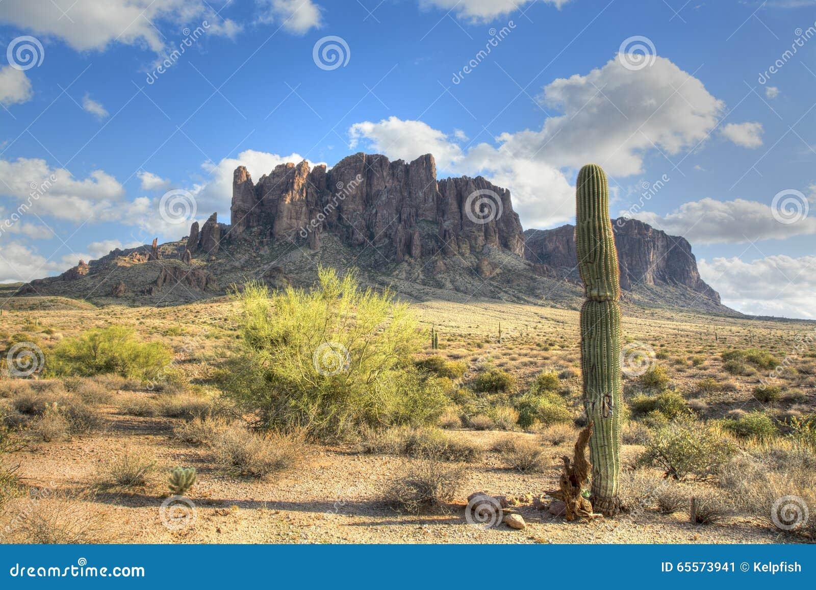 Aberglaube-Berg in Arizona
