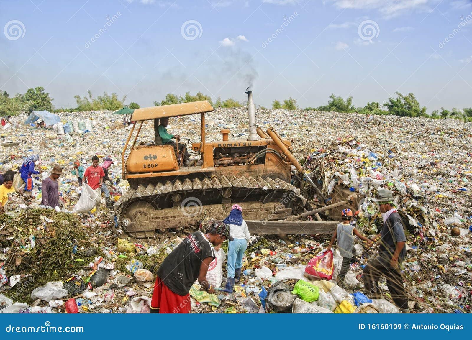 Abfall-Reiniger