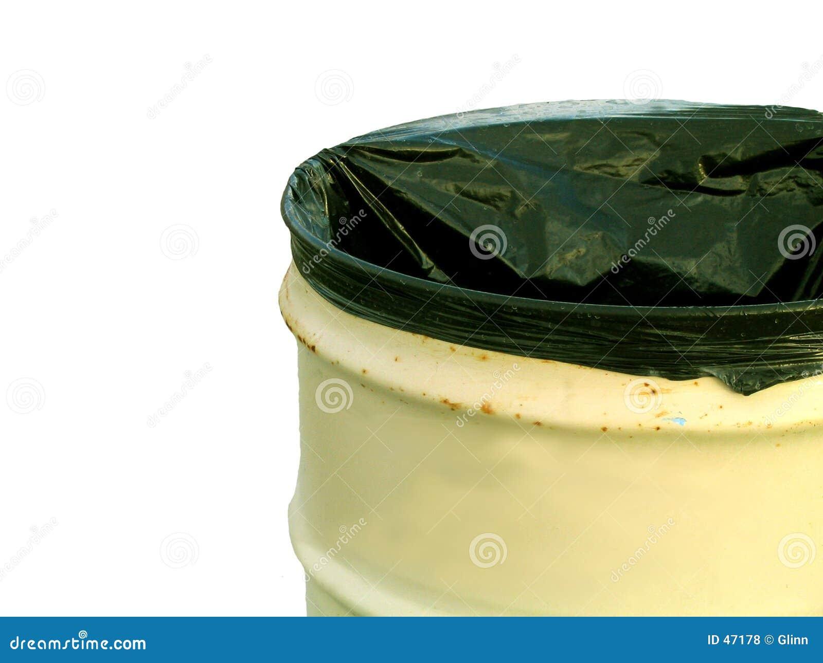 Abfalldose - getrennt