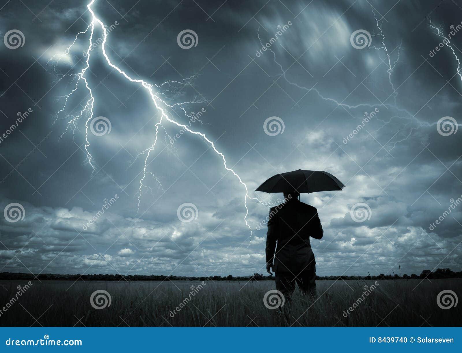 Abgefangen im Sturm