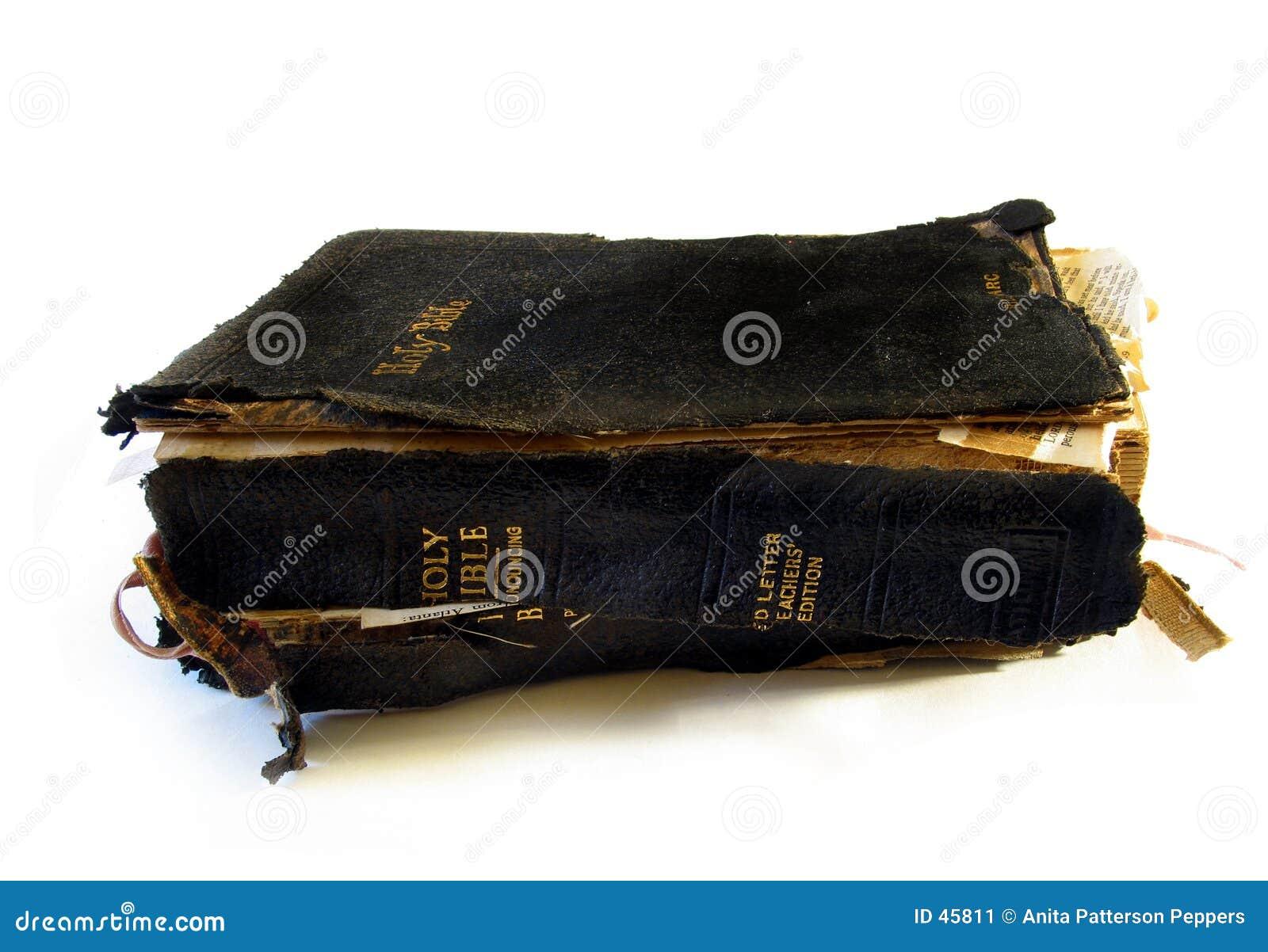 Abgenutzte Bibel