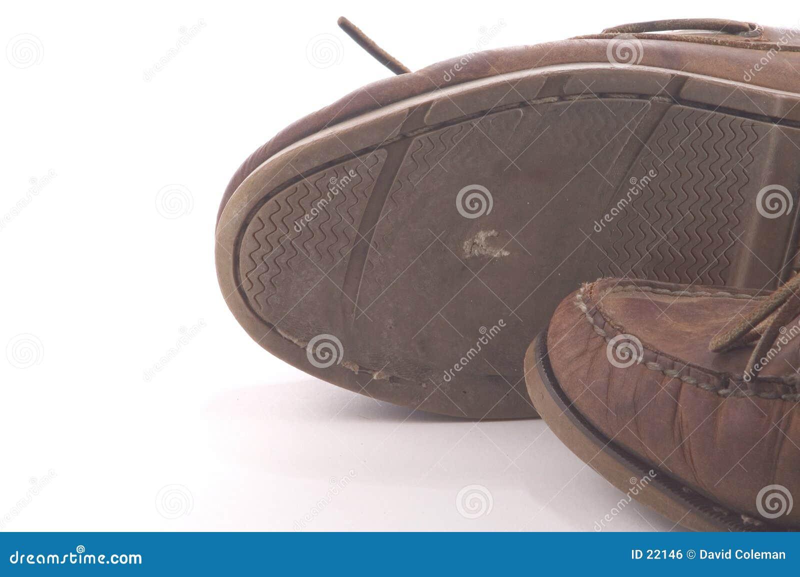 Abgenutzte Schuhe