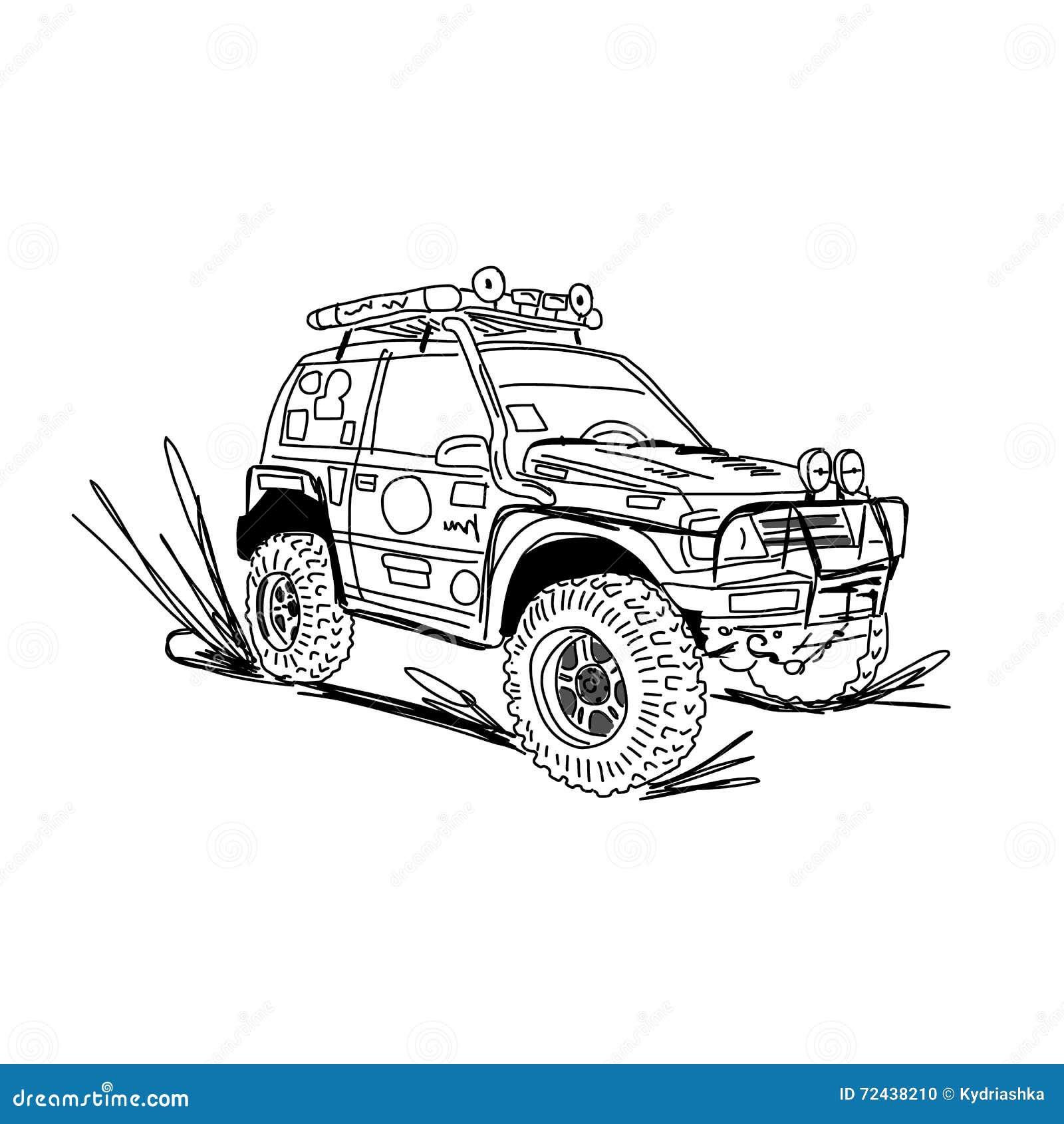 Erfreut Auto Skizze Website Bilder - Schaltplan Serie Circuit ...