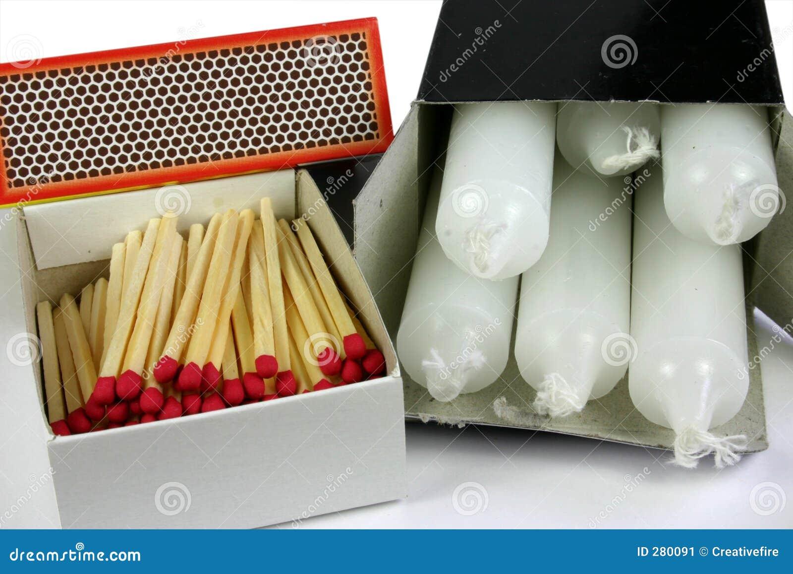 Abgleichungen und Kerzen