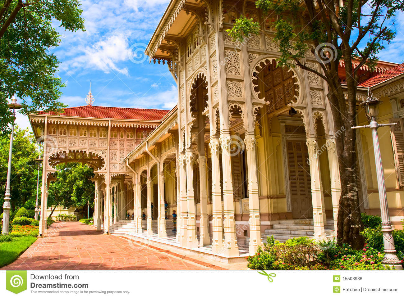 The Abhisek Dusit Throne Hall Royalty Free Stock Image ...