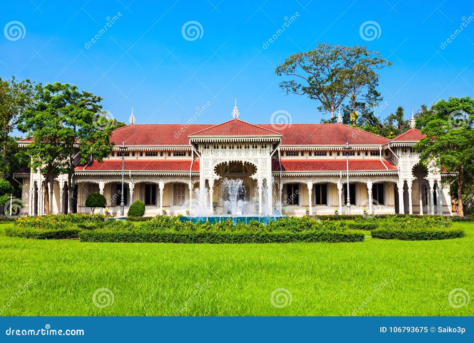 Abhisek Dusit Throne Hall Stock Image Image Of Landmark 106793675