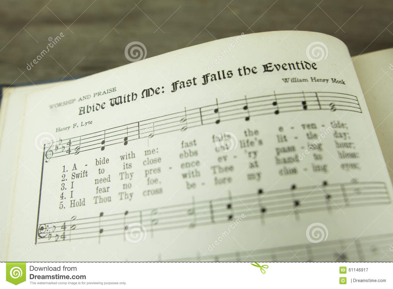 Abide With Me Fast Falls The Eventide Christian Worship Hymn