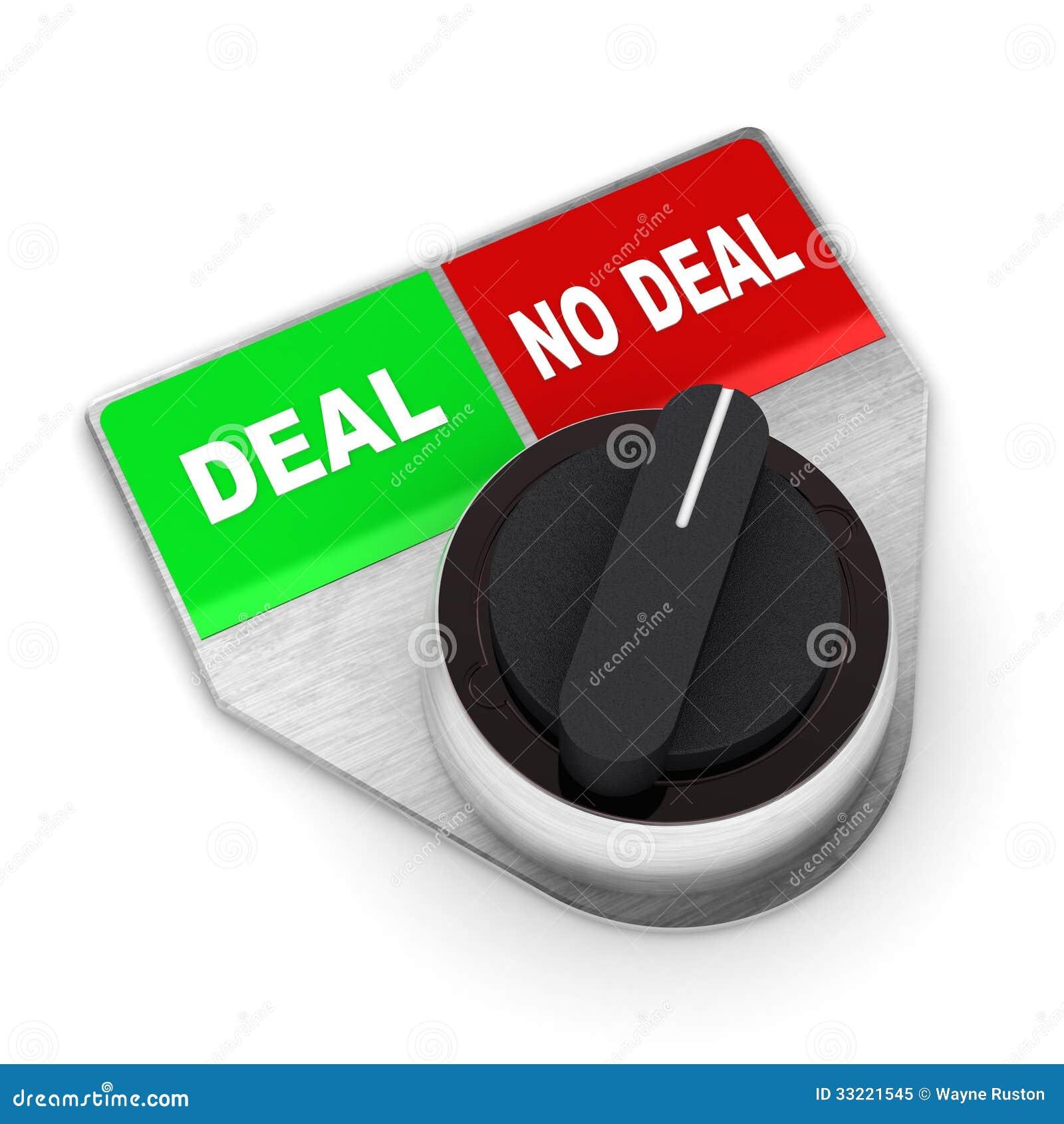 Abkommen gegen keinen Abkommen-Schalter