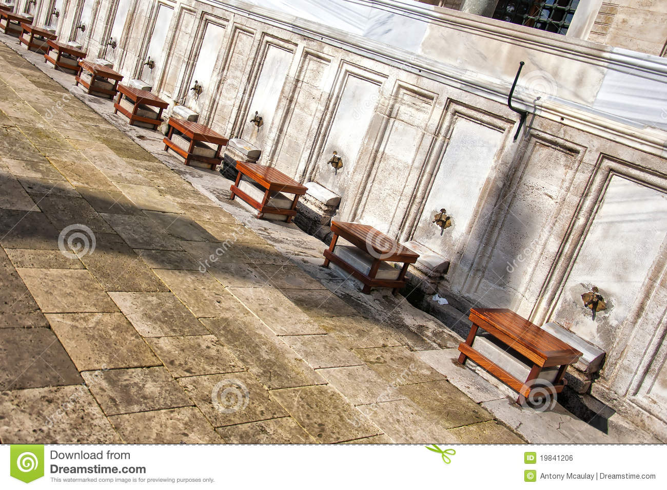 Marble Temple Home Decoration Ablution Tap Royalty Free Stock Photo Cartoondealer Com
