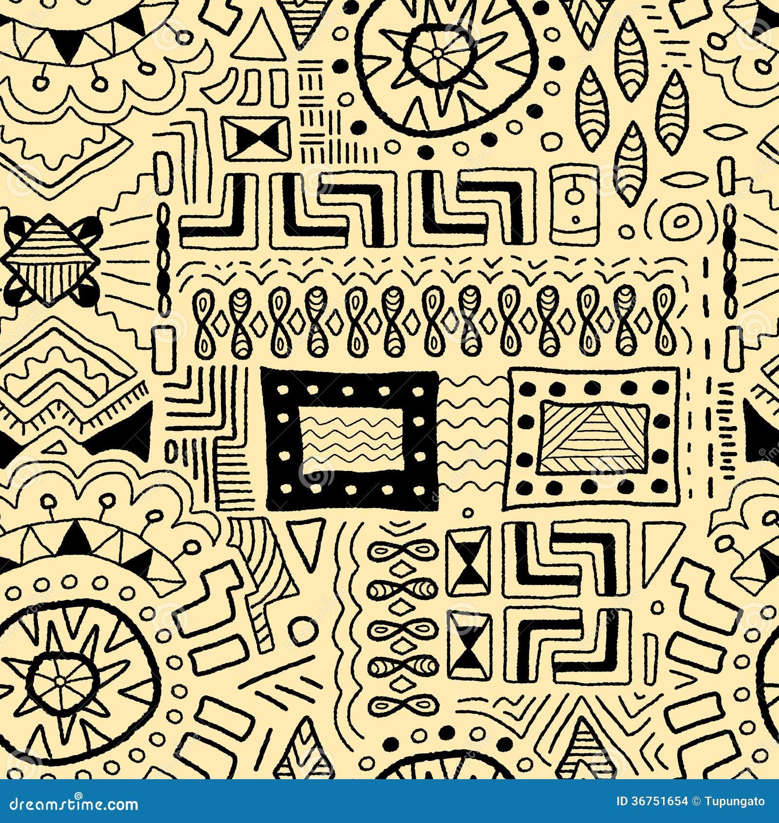 Aboriginal patterns stock vector. Illustration of traditional - 25567849