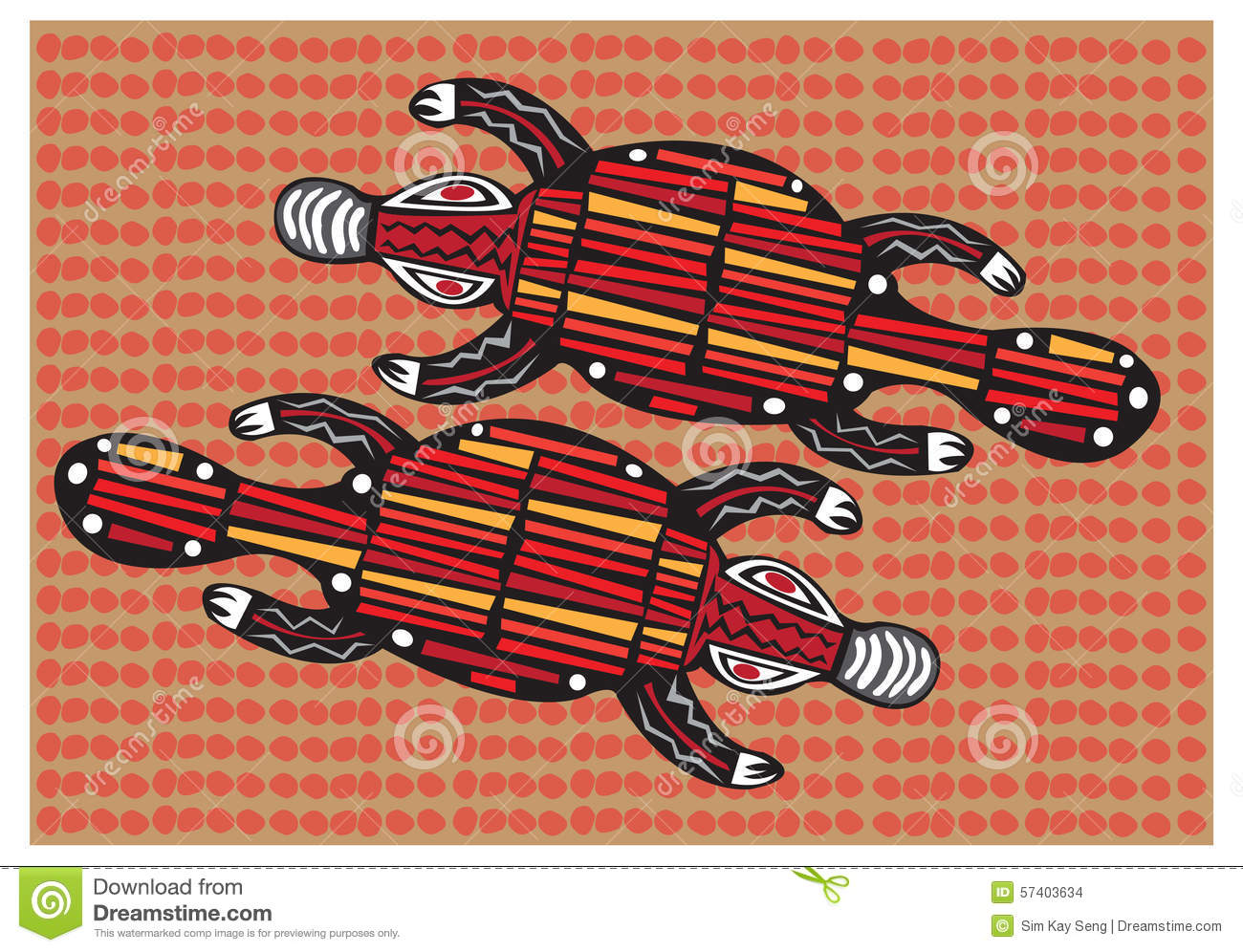 Aboriginal arts stock vector image 57403634 royalty free vector download aboriginal arts toneelgroepblik Image collections