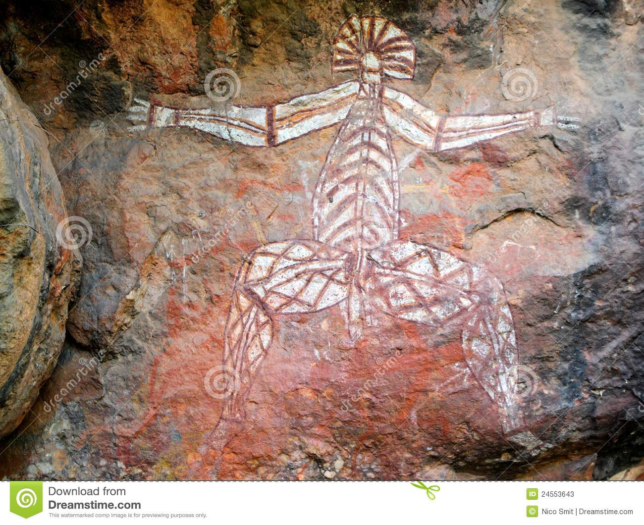 Aboriginal rock art, Nourlangie