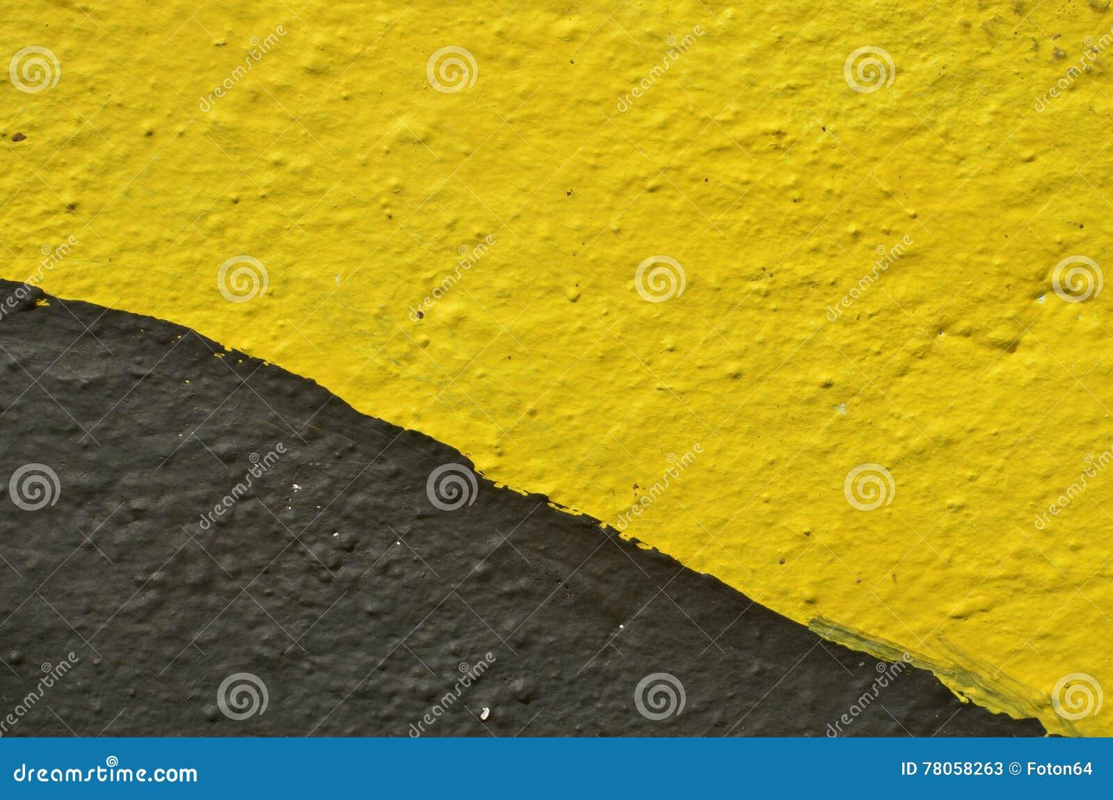 Abrégé sur jaune et noir graffiti