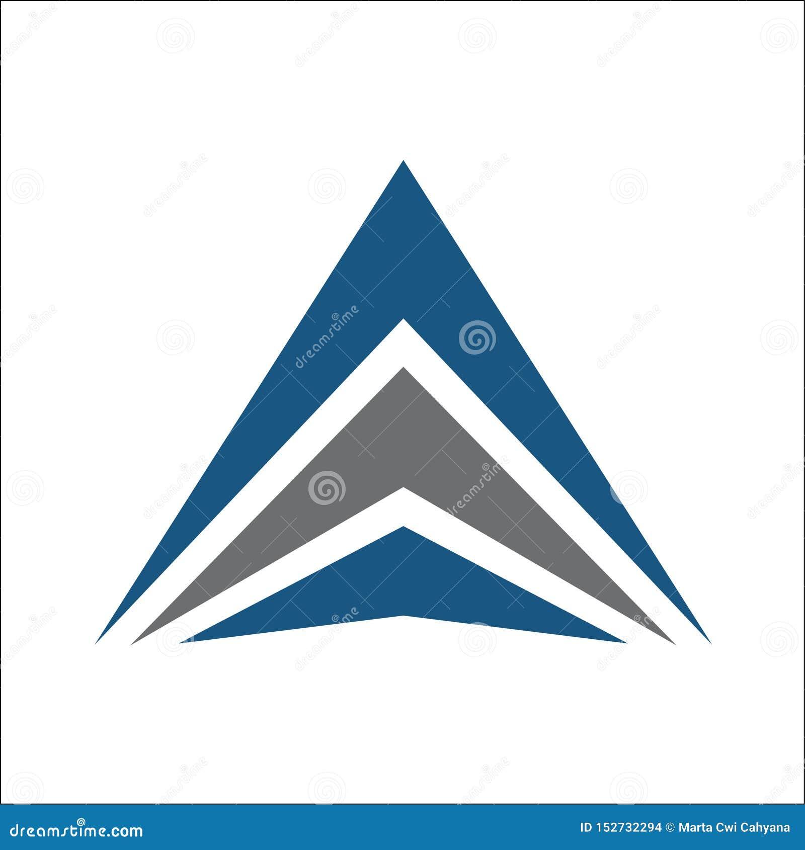 Abrégé sur logo de triangle