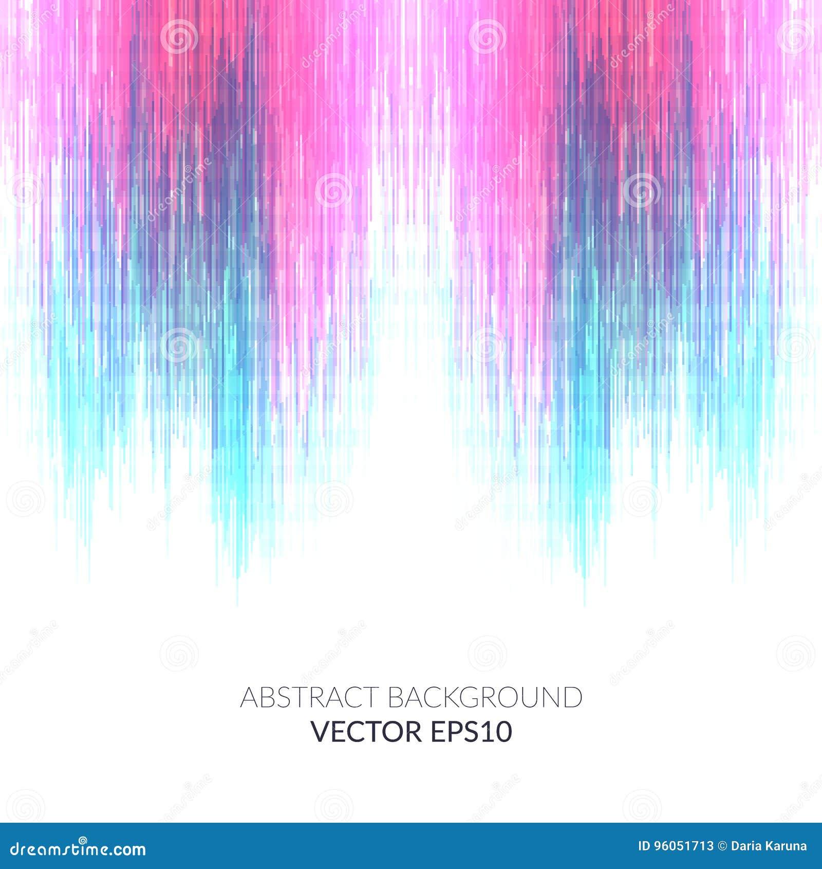 Abrégez le fond Visualisation lumineuse de musique L espace blanc pour le texte