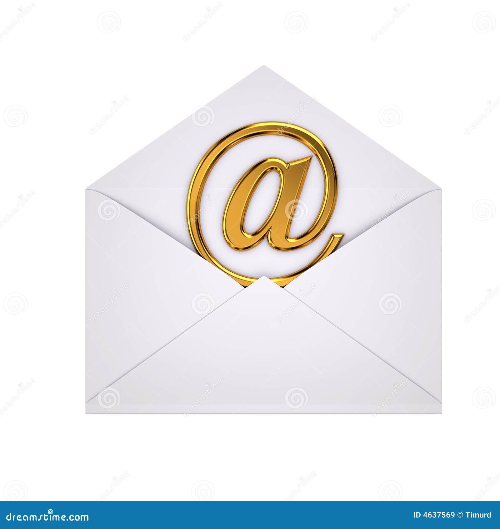 Abra o email