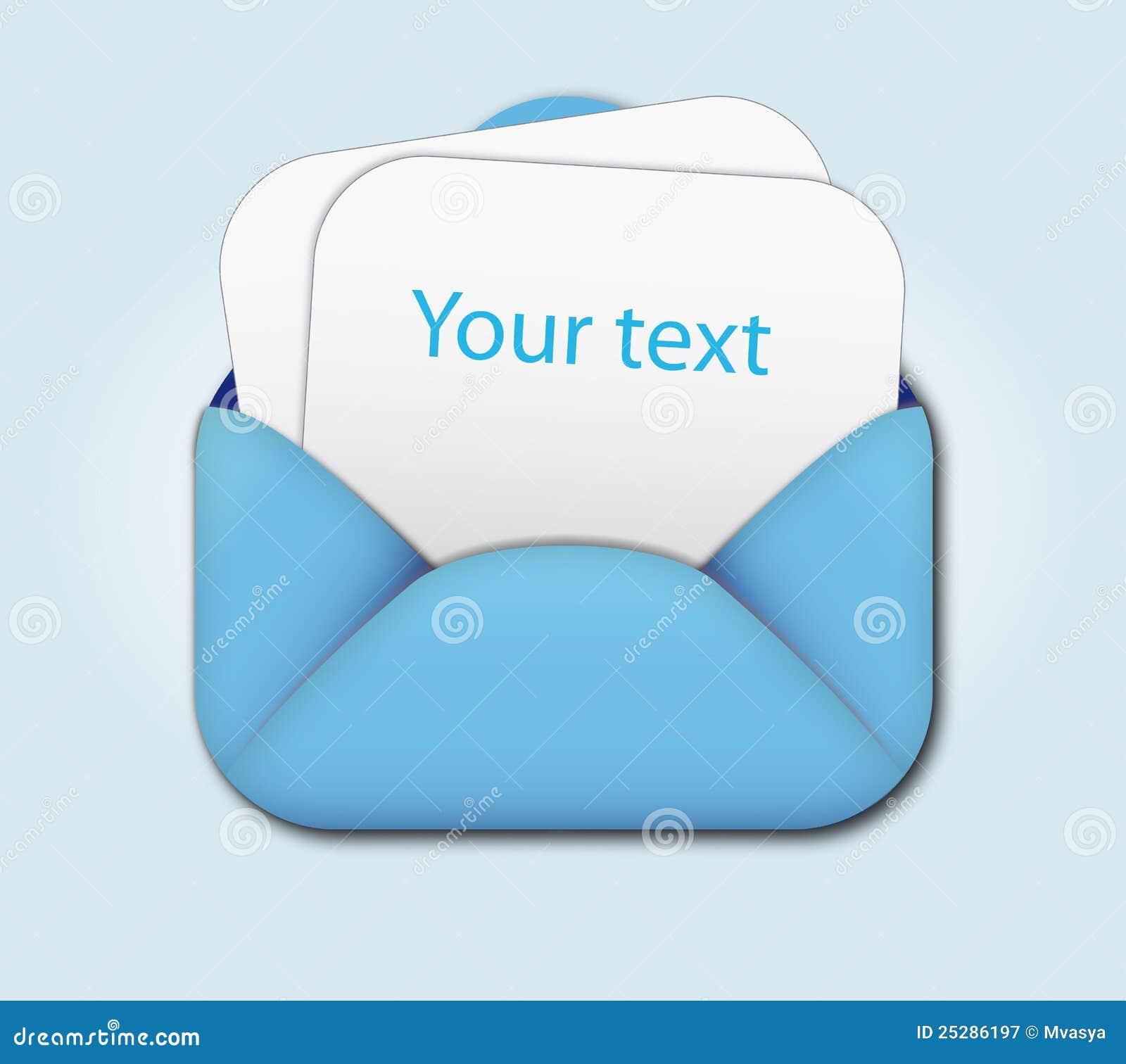 Abra o envelope e anule a letra