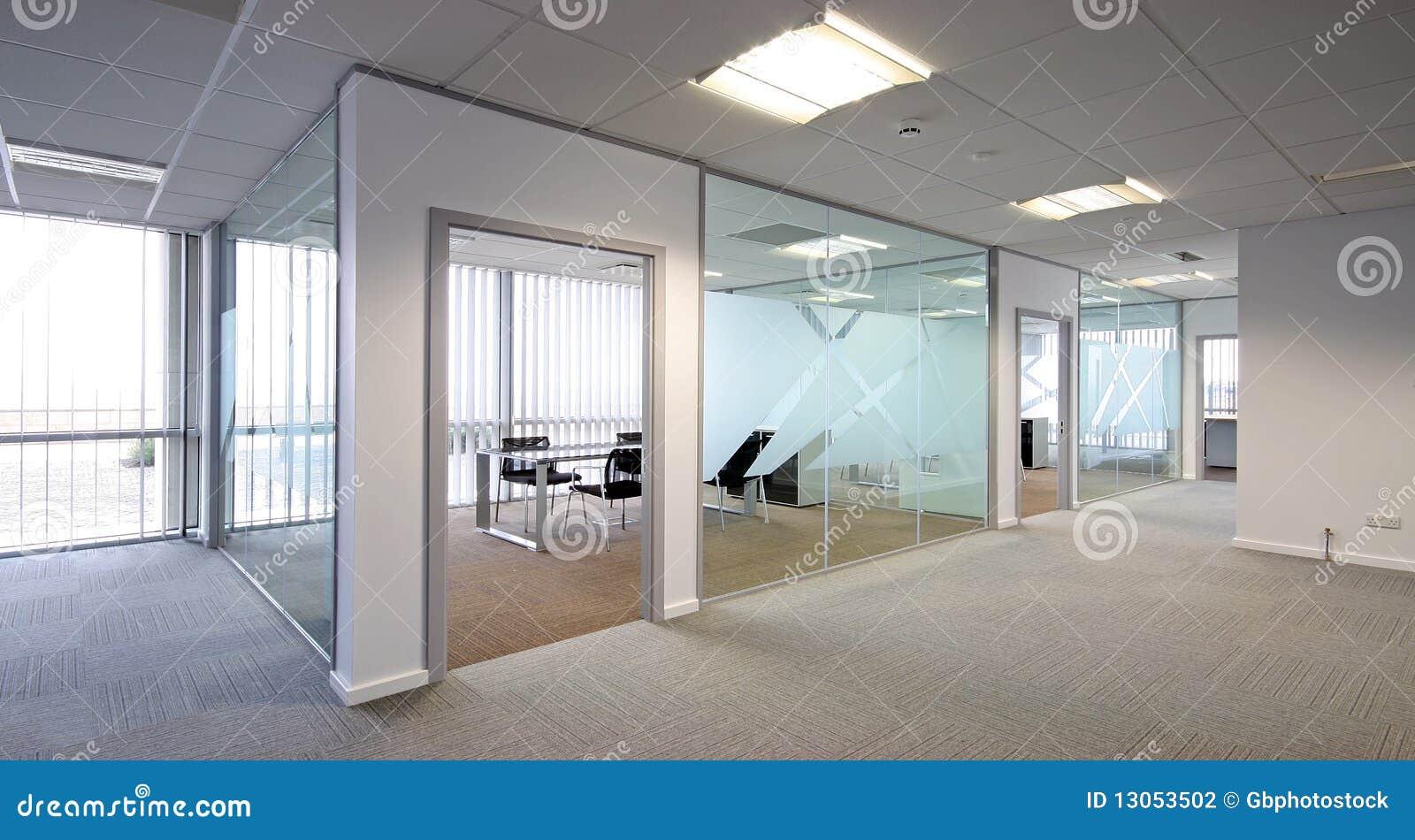 Abra o escritório da planta