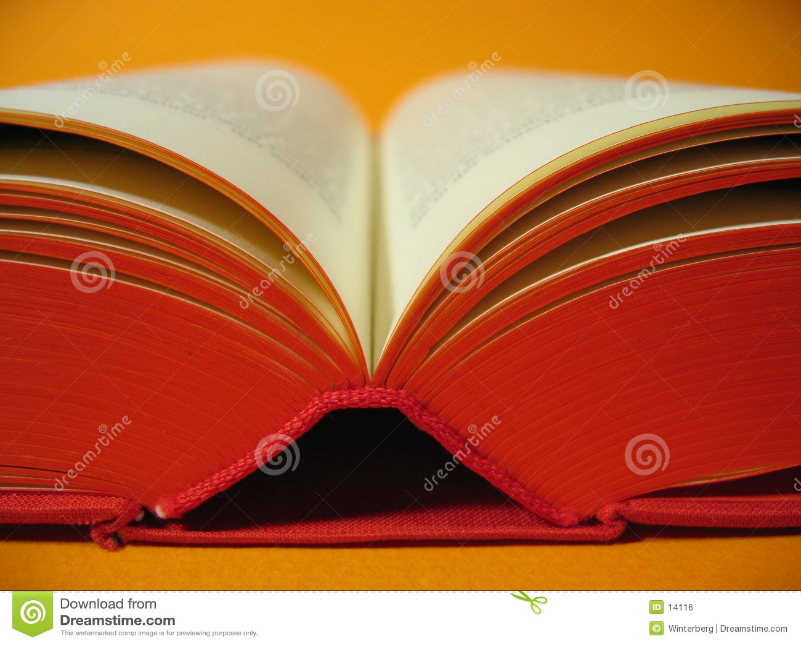 Abra o livro vermelho